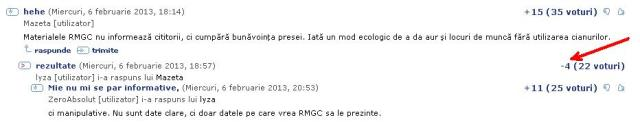 RMGC a descoperit metoda ecologica